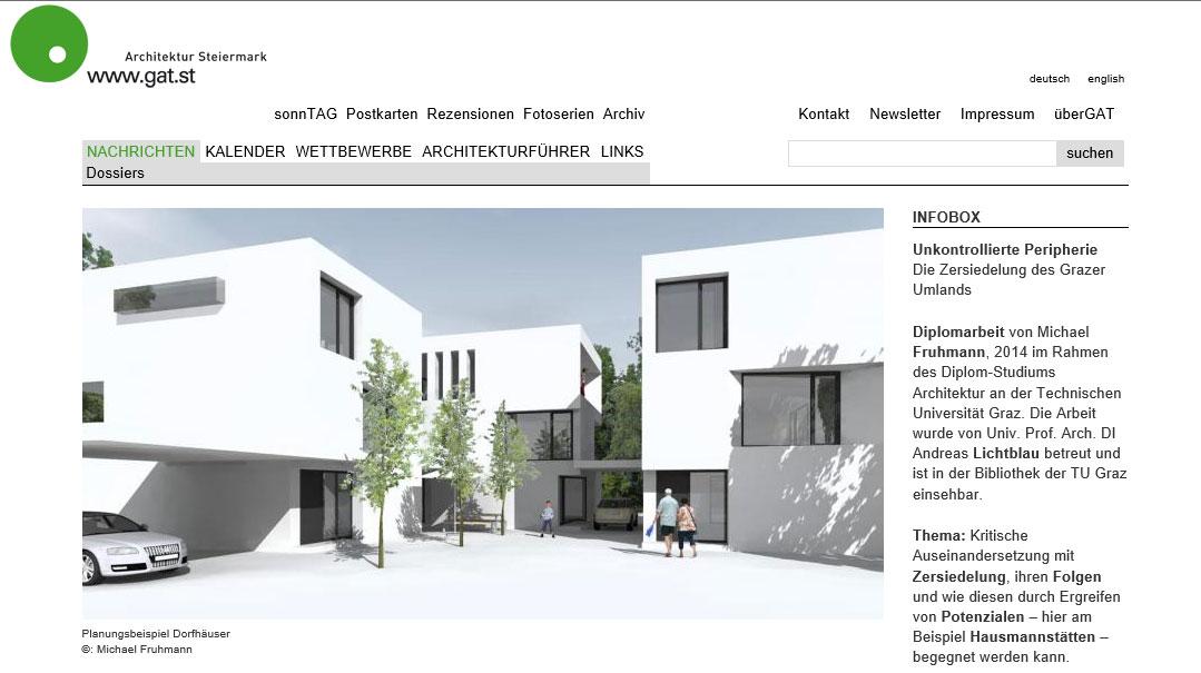 Michael Fruhmann - GAT Architektur Steiermark